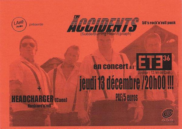 The Accidents + Headcharger à l'Eté 36 le 13 décembre 2007 à Lion-sur-Mer (14)