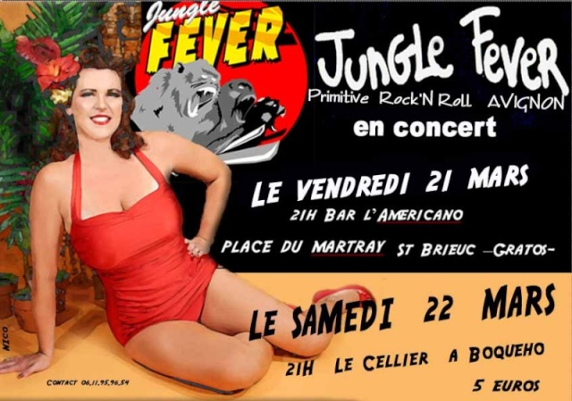 Jungle Fever à l'Americano Bar le 21 mars 2008 à Saint-Brieuc (22)