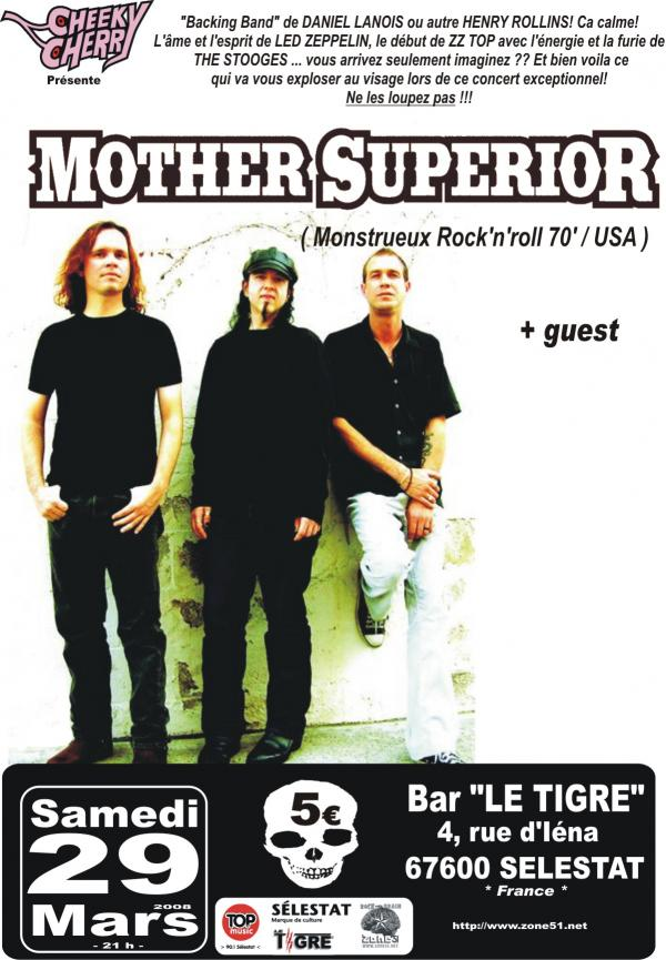 Mother Superior au bar Le Tigre le 29 mars 2008 à Sélestat (67)