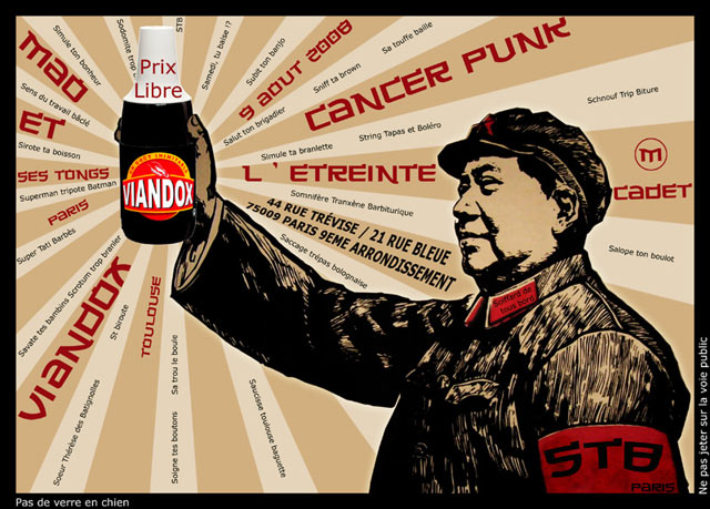 Cancer Punk à l'Etreinte le 09 août 2008 à Paris (75)