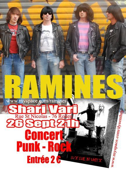 The Ramines au Shari Vari le 26 septembre 2008 à Rouen (76)