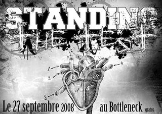 Standing the Test au Bottleneck le 27 septembre 2008 à Dunkerque (59)
