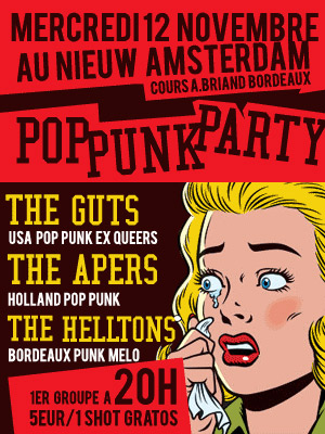 Pop Punk Party au Nieuw Amsterdam le 12 novembre 2008 à Bordeaux (33)