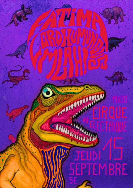 Les 1 an de reste en chien le 15 septembre 2016 paris - Le cirque electrique porte des lilas ...