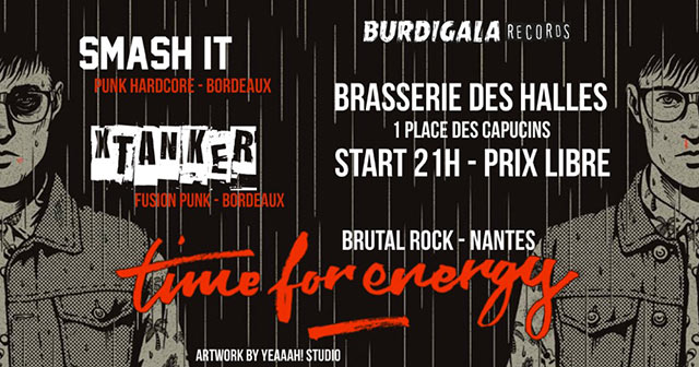 Time For Energy / Xtanker / Smash It! le 13 octobre 2017 à Bordeaux (33)