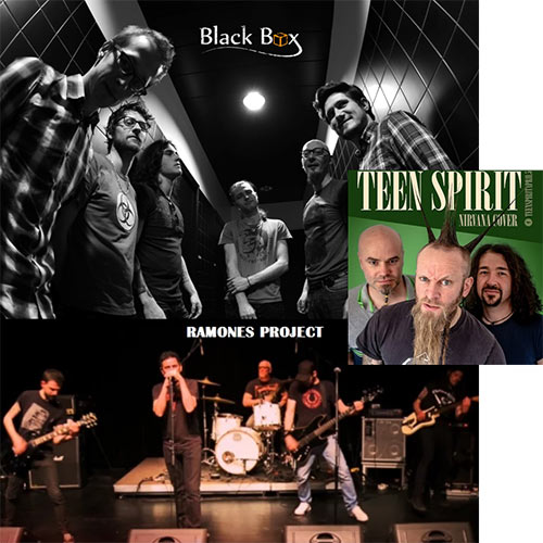 LA FABRIQUE - Black Box + Teen Spirit Cover + Ramones Project le 04 novembre 2017 à Bonchamp-lès-Laval (53)