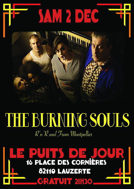 Wild Soul Party 2 : The Burning Souls à Puits de Jour le 02 décembre 2017 à Lauzerte (82)
