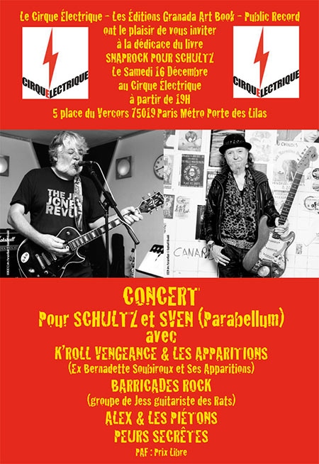 Cirque electrique hommage schultz onvasortir paris - Le cirque electrique porte des lilas ...