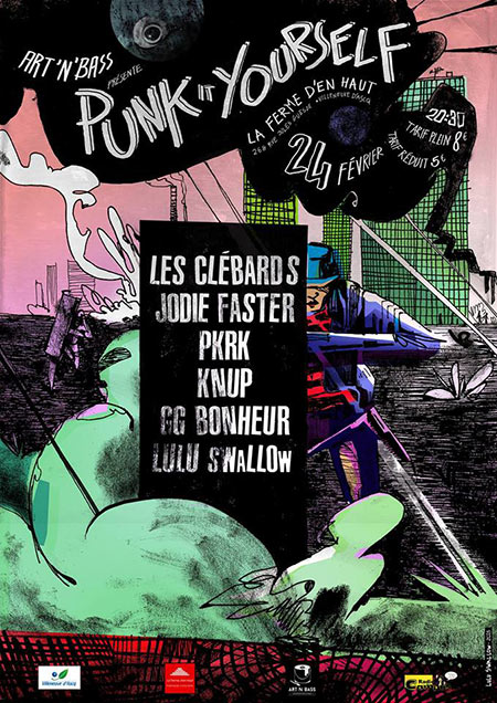 Punk It Yourself le 24 février 2018 à Villeneuve-d'Ascq (59)