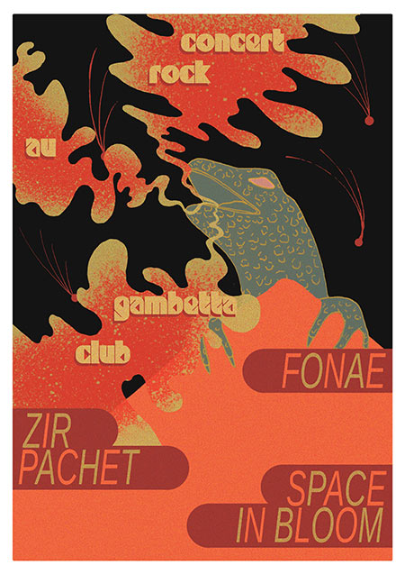 FONAE + ZIR PACHET + SPACE IN BLOOM le 14 juin 2018 à Paris (75)