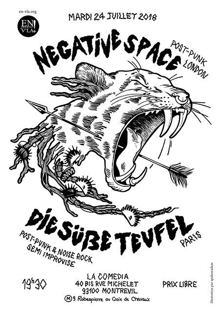 Negative Space + Die Süße Teufel le 24/07/2018 à Montreuil (93)