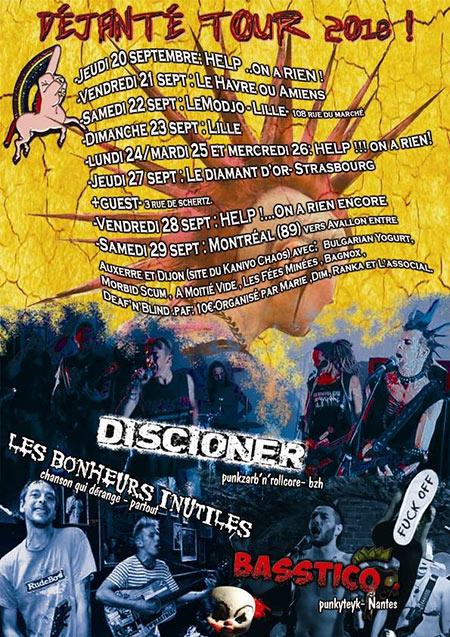 Déjanté Tour le 27/09/2018 à Strasbourg (67)