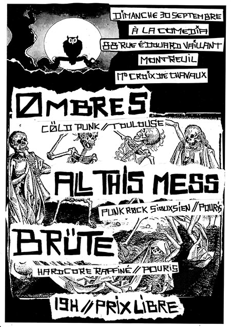 OmbreS // All This Mess // Brüte le 30/09/2018 à Montreuil (93)