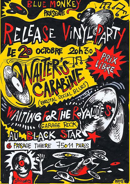 BLACK STAR / ROCK RELEASE PARTY le 20/10/2018 à Paris (75)