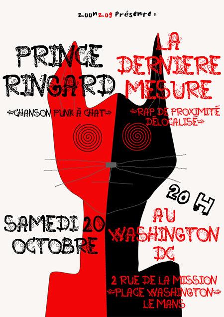 Prince Ringard + La Dernière Mesure le 20/10/2018 à Le Mans (72)