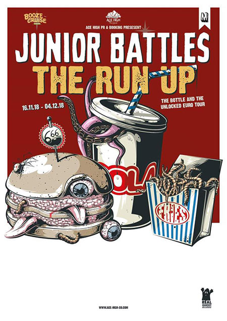 Junior Battles + The Run Up + guest surprise le 18 novembre 2018 à Paris (75)