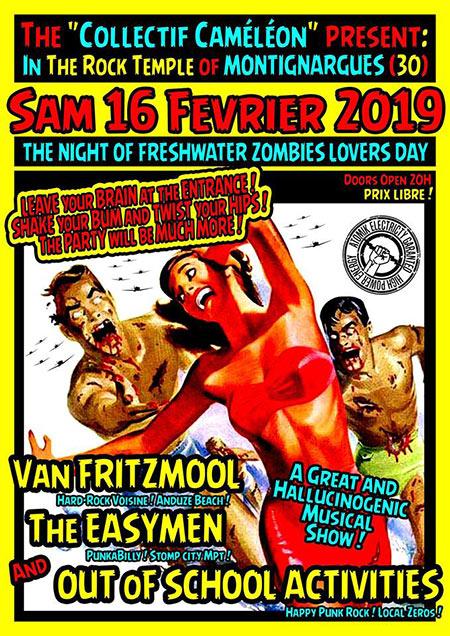 Concert au Temple du Rock le 16/02/2019 à Montignargues (30)