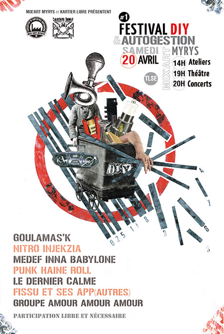 Festival DIY ET AUTOGESTION le 20 avril 2019 à Toulouse (31)