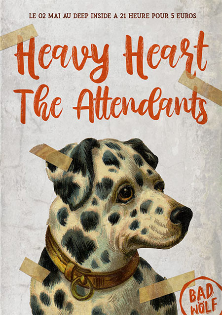Heavy Heart + The Attendants @ Deep Inside le 02/05/2019 à Dijon (21)