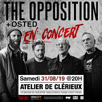 THE OPPOSITION + OSTED le 31/08/2019 à Clérieux (26)