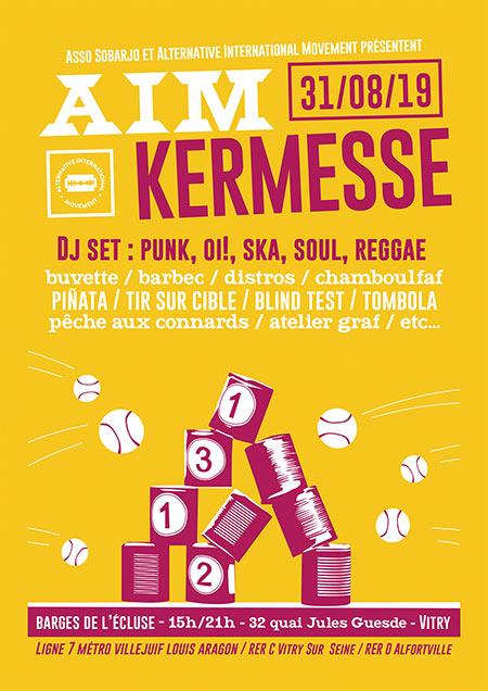 Kermesse AIM le 31/08/2019 à Vitry-sur-Seine (94)