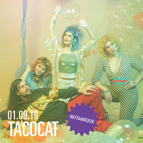 Tacocat le 01 septembre 2019 à Saint-Josse-ten-Noode (BE)