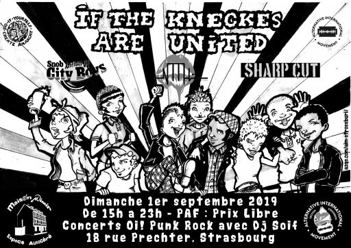 If The Kneckes Are United le 01/09/2019 à Strasbourg (67)