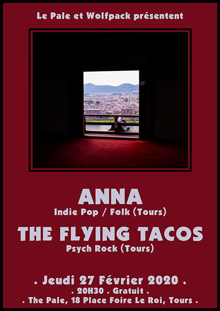 Anna + The Flying Tacos le 27/02/2020 à Tours (37)